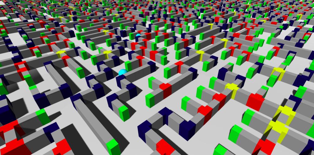 maze creator screenshot
